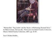 Hernan Bas 'Fag Limbo' and the Tactics of ... - Robert Hobbs