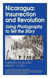 Nicaragua: Insurrection and Revolution - Hampden-Sydney College