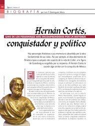 Hernan Cortes, conquistador y politico