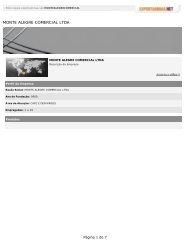 MONTE ALEGRE COMERCIAL LTDA - exportaminas.net