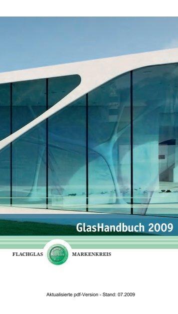GlasHandbuch 2009