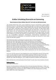 Größter Schulskitag Österreichs am Semmering - Vienna Business ...