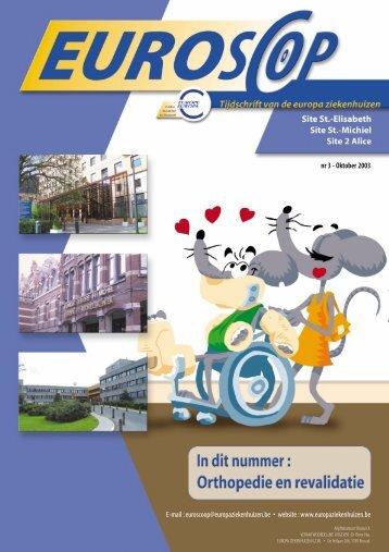 Dr Raf De Vloo - Europa Ziekenhuizen
