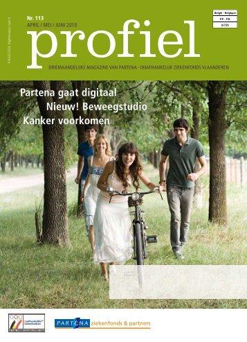 partena gaat digitaal nieuw! Beweegstudio Kanker voorkomen