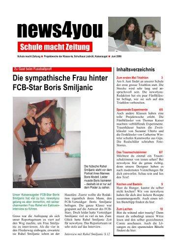 Die sympathische Frau hinter Fcb-Star Boris ... - Basler Zeitung