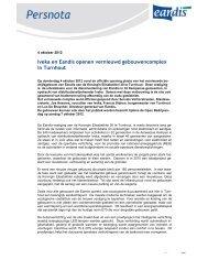 Iveka en Eandis openen vernieuwd gebouwencomplex in Turnhout