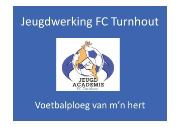 Infosessie bovenbouw - FC Turnhout