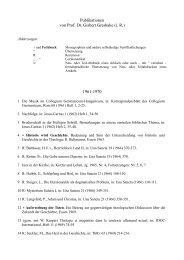 Bibliographie Prof. Dr. Gisbert Greshake (i. R.) - PDF - Theologische ...