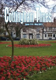 Issue 114 - May 2011 - The Cottingham Times
