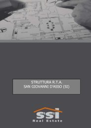 2 R.T.A. a reddito San Giovanni D' Asso-SI - SSIrealestate