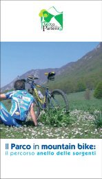 Il Parco in mountain bike: - Casamarcianomtb