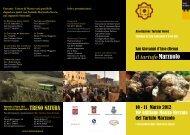 Il programma del Tartufo Marzuolo a San Giovanni d'Asso