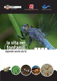 La vita nei fontanili.pdf - Riserva Naturale Tevere Farfa