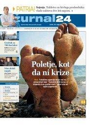 Poletje, kot da ni krize - Žurnal24