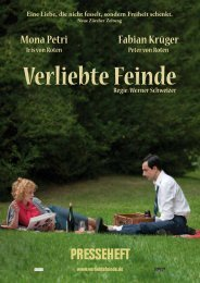 Presseheft Mona Petri Fabian Krüger - Rendezvous Filmverleih