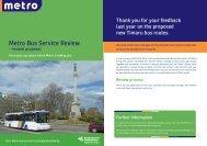 Metro Bus Service Review