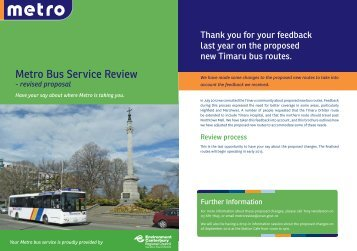 Metro Bus Service Review