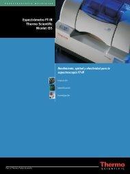 Espectrómetro FT-IR Thermo Scientific Nicolet iS5