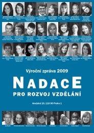 2009 - Nadace pro rozvoj vzdělání