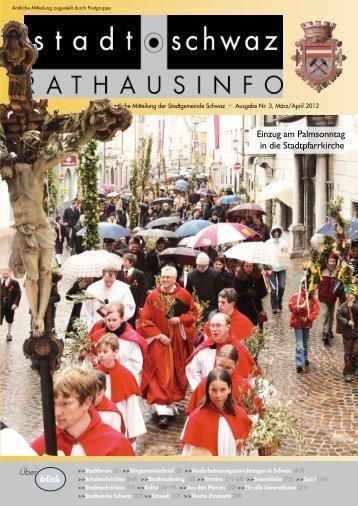 PDF Rathausinfo Nr. 3/2012 - Schwaz