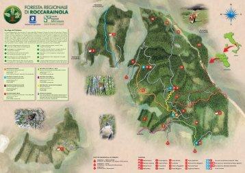 Cartina Foresta Rocc#76364.fh11 - Comune di Roccarainola