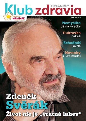 Február 2008 PDF - Klub zdravia WALMARK