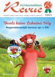 Potravinářská Revue 1/2013 - Česká potravina