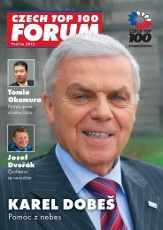 KAREL DOBEŠ - Czech Top 100