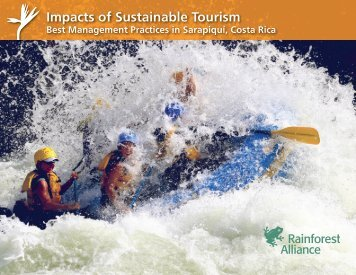 Impacts of Sustainable Tourism