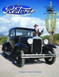 The Restorer • November/December 2009 - MacLeanTech