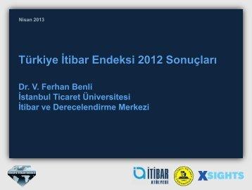 Türkiye Geneli Önem-Başarı Analizi - İtibar Atolyesi