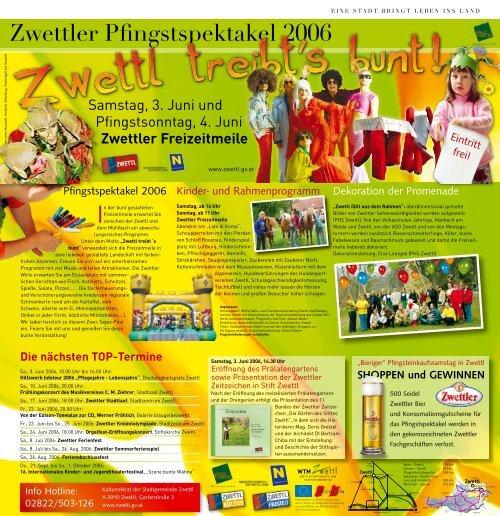 Samstag, 3. Juni 2006 - Zwettl