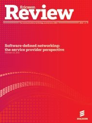Software-defined networking: the service provider ... - Ericsson