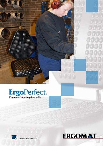 Ergonomická průmyslová židle - rohoze-ergomat.cz