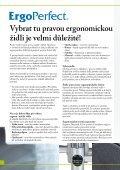 Ergonomická průmyslová židle - rohoze-ergomat.cz - Page 2