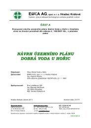 Posouzení návrhu územního plánu Dobrá Voda u Hořic z ... - Hořice
