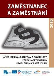 Informační brožura č. 2 - Zaměstnanec a zaměstnání