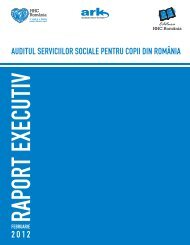 Auditul Serviciilor Sociale pentru Copiii din România - HHC România