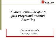 Analiza serviciilor de sănătate mintală adresate copiilor din România