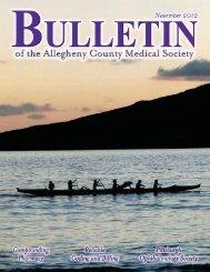June 2009 Bulletin - Allegheny County Medical Society