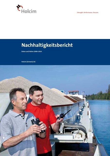 Nachhaltigkeitsbericht 2008-2010 der Holcim