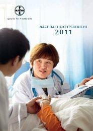 Bayer-Nachhaltigkeitsbericht 2011