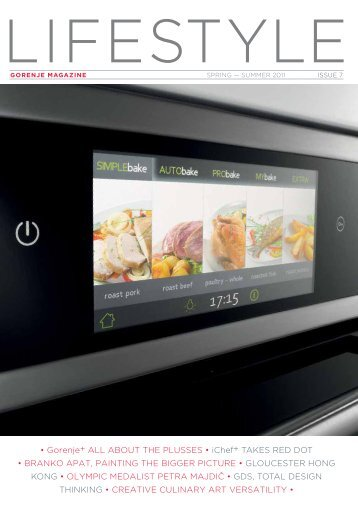 • Gorenje+ ALL AboUT ThE PLUSSES • iChef+ TAKES RED DoT ...