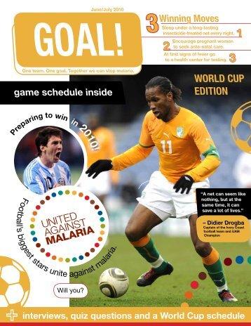 WORLD CUP EDITION - Malaria Free Future