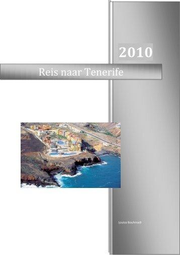Reis naar Tenerife - Louisa Bouhmadi