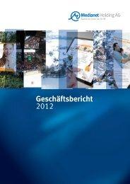 Geschäftsbericht 2012 - Medianet Holding AG
