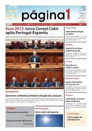 Euro 2012: turco Cuneyt Cakir apita Portugal-Espanha Págs.2 e 3