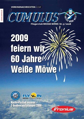 2009 feiern wir 60 Jahre Weiße Möwe - Fliegerclub Weiße Möwe Wels