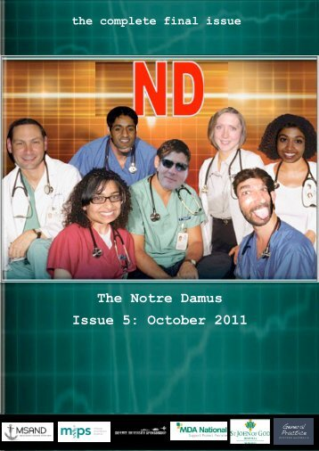 The Notre Damus Issue 5: October 2011 - MSAND