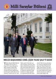 meclis başkanımız cemil çiçek yıldız şale'yi gezdi - Milli Saraylar